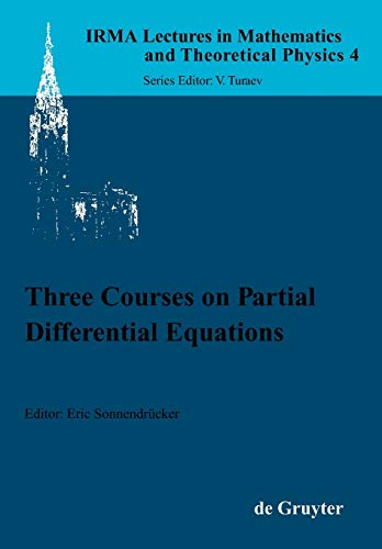 Three Courses on Partial Differential Equations (Irma