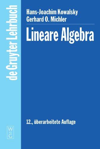 9783110179637: Lineare Algebra