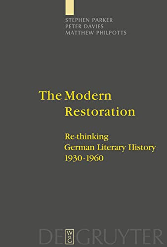 The Modern Restoration: Stephen Parker