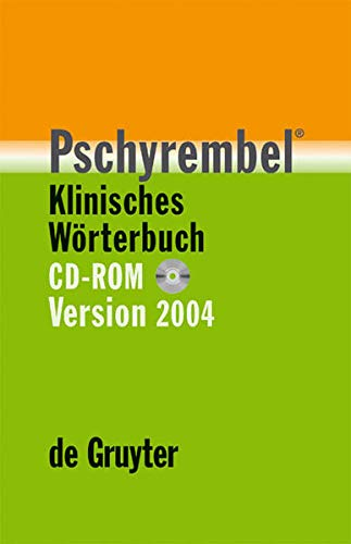 9783110181708: Pschyrembel[registered] Klinisches Worterbuch