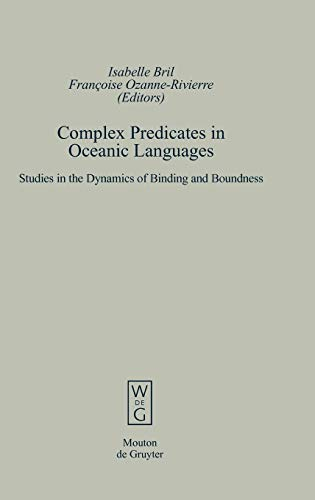 9783110181883: Complex Predicates in Oceanic Languages (Empirical Approaches to Language Typology [Ealt]) (German Edition)