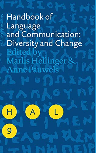 9783110182170: Handbook of Language and Communication: Diversity and Change (Handbooks of Applied Linguistics [HAL])