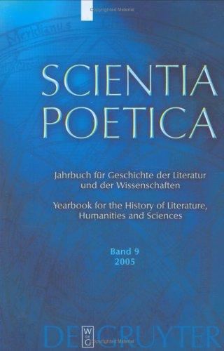 Scientia Poetica. Bd 9. 2005: Jahrbuch Fur: Lutz Danneberg -