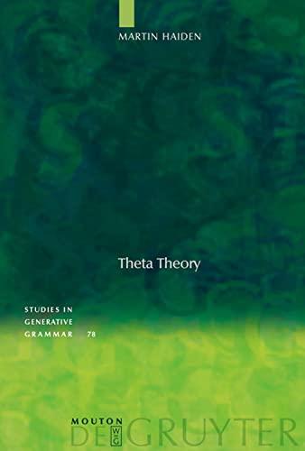 9783110182859: Theta Theory (Studies in Generative Grammar)
