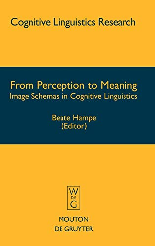 9783110183115: From Perception to Meaning: Image Schemas in Cognitive Linguistics (Cognitive Linguistics Research, 29)