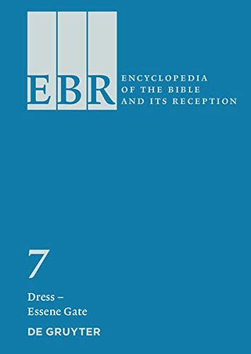 9783110183757: Dress Essene Gate (Encyclopedia of the Bible and Its' Reception)