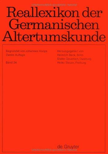 Reallexikon der Germanischen Altertumskunde: Band 34: Wielbark-Kultur: Heinrich Beck (Editor)