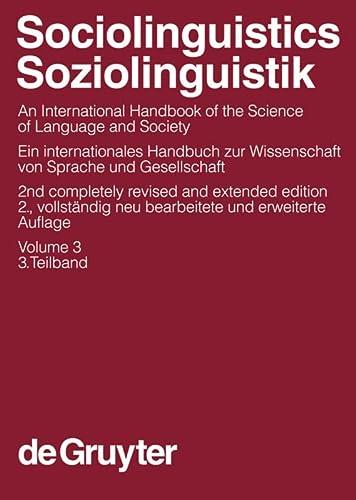 Sociolinguistics/Soziolinguistik 3: Ulrich Ammon
