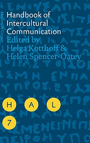 9783110184716: Handbook of Intercultural Communication (Handbooks of Applied Linguistics [HAL])