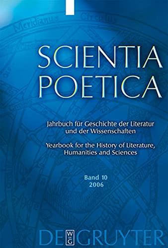 Scientia Poetica: Jahrbuch fur Geschichte der Literatur: Danneberg, Lutz