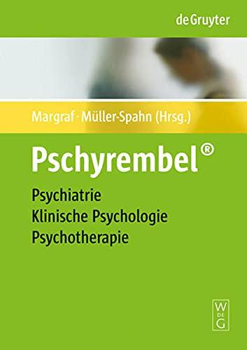 9783110188882: Pschyrembel� Psychiatrie, Klinische Psychologie, Psychotherapie