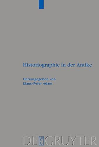 Historiographie in Der Antike: Adam
