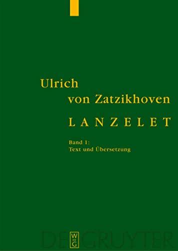 9783110189360: Lanzelet (2 Volumes) (German Edition)
