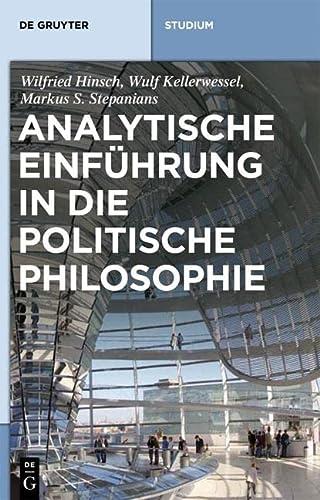 9783110189391: Analytische Einfuhrung in Die Politische Philosophie (de Gruyter Studienbuch)