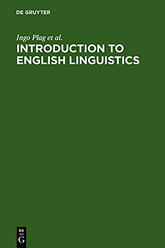 9783110189698: Introduction to English Linguistics (Mouton Textbook)