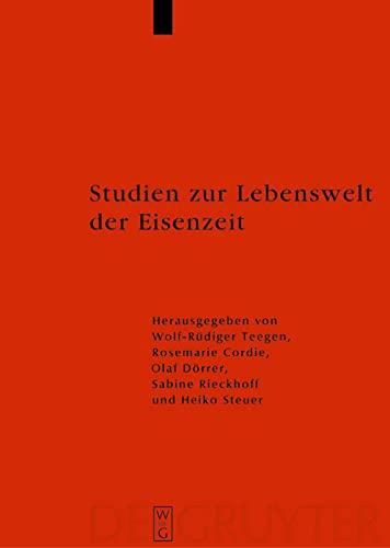 9783110190106: Studien Zur Lebenswelt Der Eisenzeit: Festschrift Fur Rosemarie Muller (Reallexikon der Germanischen Altertumskunde - Ergaenzungsbaende)