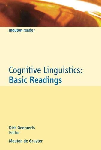 9783110190854: Cognitive Linguistics: Basic Readings (Mouton Reader)