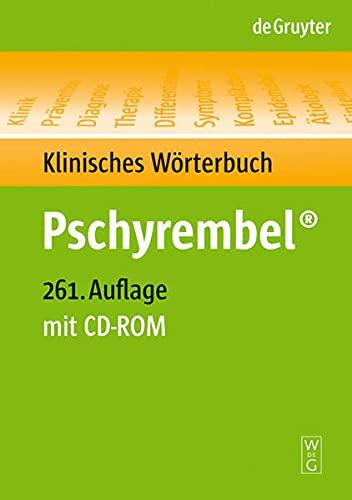 9783110191271: Pschyrembel® Klinisches Wörterbuch (261. A.). Buch und CD-ROM