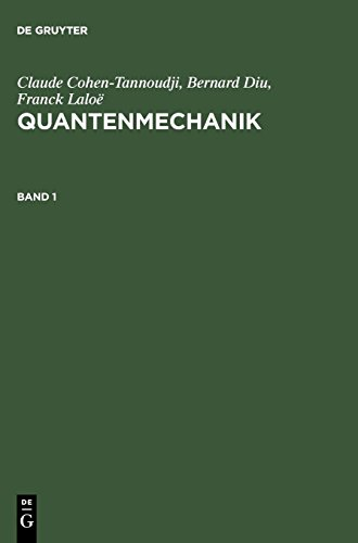 9783110193244: Quantenmechanik: Teil 1 (German Edition)