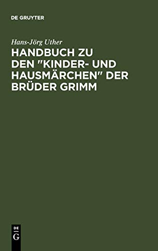 9783110194418: Handbuch zu den