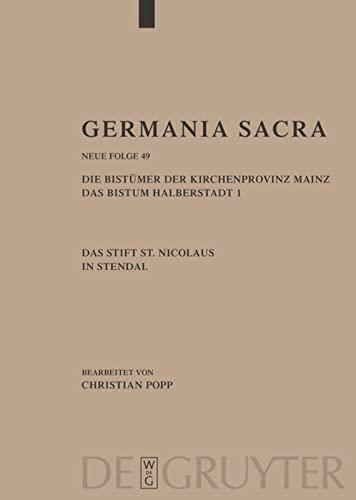 9783110195354: Germania Sacra: Historisch-statistische Beschreibung der Kirche des Alten Reiches (German Edition)