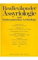 9783110195453: Reallexikon der Assyriologie und Vorderasiatischen Archäologie: Volume 11: Part 5 & 6 (German and English Edition)