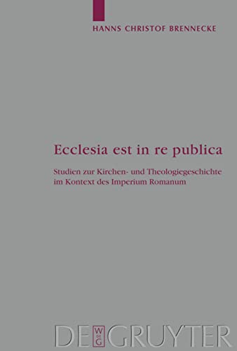 Ecclesia est in re publica: Hanns Christof Brennecke