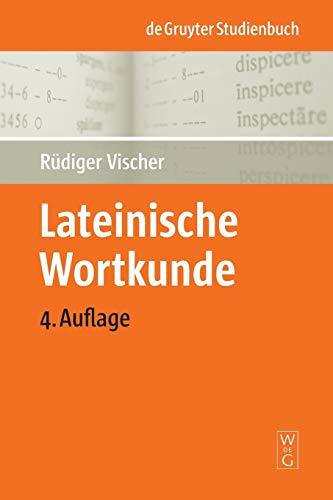 9783110202151: Lateinische Wortkunde (de Gruyter Studienbuch) (German Edition)