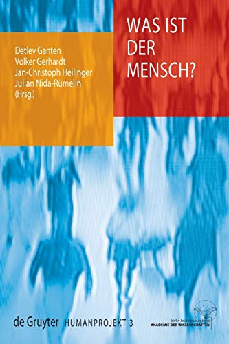 9783110202625: Was ist der Mensch? (Humanprojekt) (German Edition)