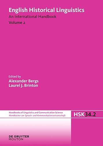 English Historical Linguistics. Vol.2: Laurel J. Brinton