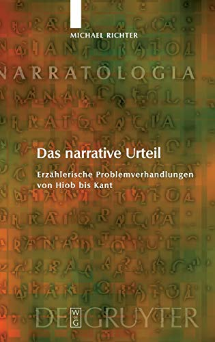 9783110203950: Das narrative Urteil (Narratologia)