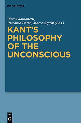 9783110204032: Kant's Philosophy of the Unconscious