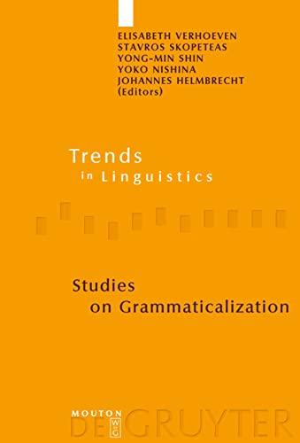 Studies on Grammaticalization (Trends in Linguistics: Studies and Monographs): Helmbrecht