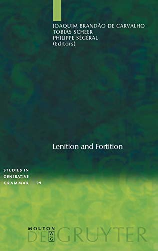 Lenition and Fortition: Brandao de Carvalho