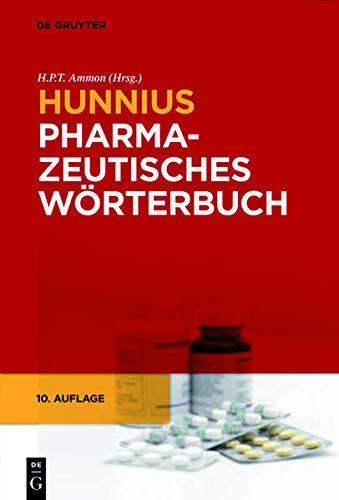 9783110206319: Hunnius Pharmazeutisches Wörterbuch