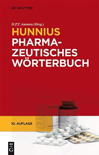 9783110206326: Hunnius Pharmazeutisches Wörterbuch