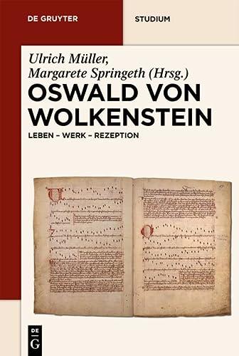 9783110207828: Oswald von Wolkenstein (de Gruyter Studium) (German Edition)