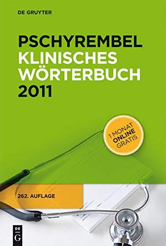 9783110211528: Pschyrembel Klinisches Worterbuch 2011 (German Edition)
