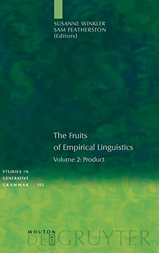 The Fruits of Empirical Linguistics 2: Product: Susanne Winkler; Sam