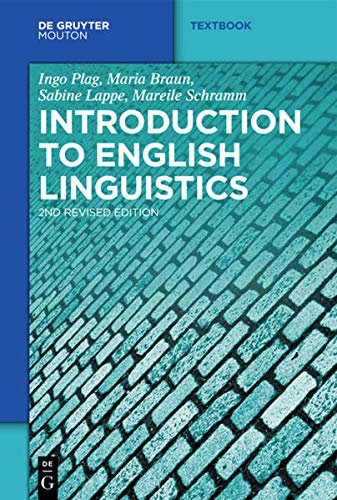 9783110214086: Introduction to English Linguistics (Mouton Textbook)