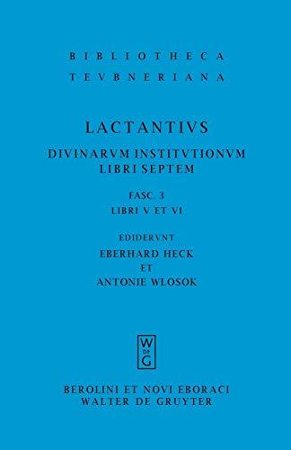 3: Libri V et VI (Bibliotheca Scriptorum