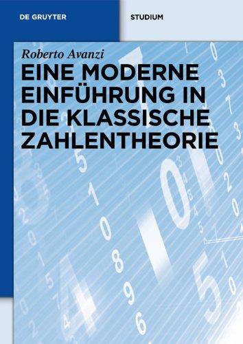 9783110215175: Eine Moderne Einfuhrung in Die Klassishe Zahlentheorie