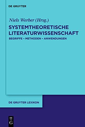 Systemtheoretische Literaturwissenschaft (Hardback)