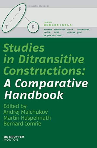 9783110220360: Studies in Ditransitive Constructions: A Comparative Handbook