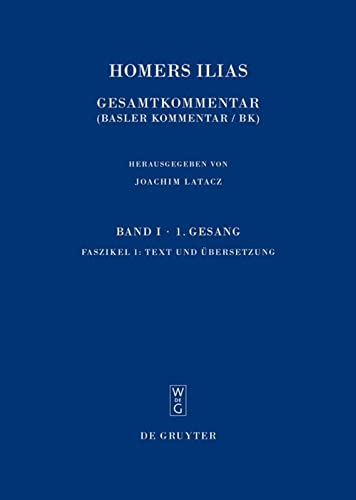 Illias. Text und Übersetzung: Homer
