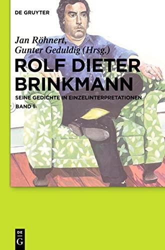 Rolf Dieter Brinkmann: Jan R�hnert