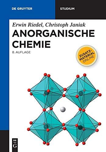 9783110225662: Anorganische Chemie/ Inorganic Chemistry (de Gruyter Studium)