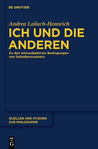 9783110228403: Ich und die anderen (Quellen Und Studien Zur Philosophie) (German Edition)