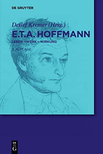 9783110229998: E.T.A. Hoffmann (de Gruyter Lexikon)