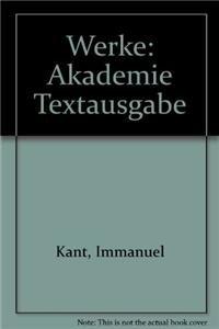 9783110245325: Werke: Akademie Textausgabe (German Edition)